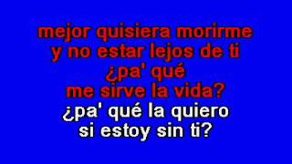 Download Banda Cuisillos   Pa Que Me Sirve La Vida Karaoke