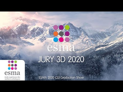 Jury 3D 2020 - ESMA (CGI Graduation Show)