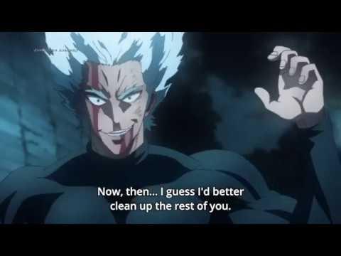 Garou Vs Tank Top Master   One Punch Man Season 2
