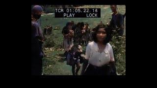 カラー化した映像でよみがえる沖縄戦の人々