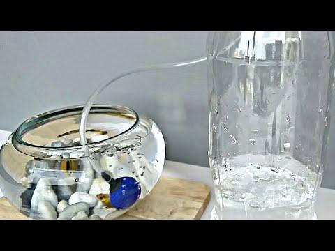 How To Make An Air Pump   Free Energy Aquarium Air Pump