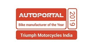 Bike Manufacturer of the Year – Triumph Motorcycles India