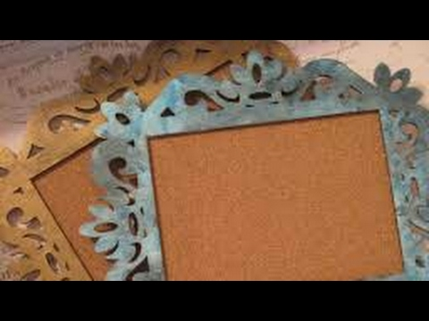 Diy Handmade Vintage Photo Frame Recycled Cardboard Step By Step