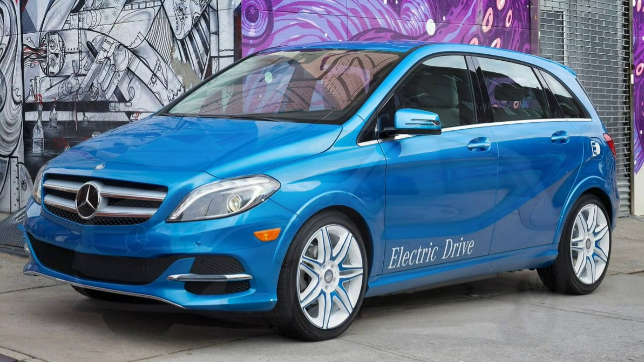 mercedes benz b class electric drive 2017 car review youtube. Black Bedroom Furniture Sets. Home Design Ideas