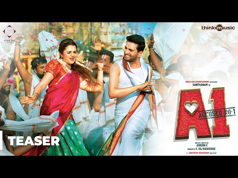 A1 Official Teaser 2   Santhanam, Tara   Johnson K   Santhosh Narayanan   S. Raj Narayanan