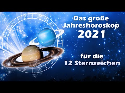 Jahreshoroskop 2021 für