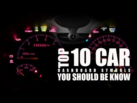 Car Dashboard Diagram | Top 10 Car Dashboard Symbols You Should Be Know Youtube