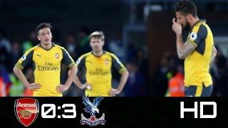 Arsenal vs Crystal Palace:0-3:Full Highlights HD(11/4/2017)