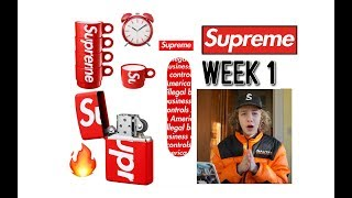 Supreme S/S '18 Week 1 Live Cop (Most Items Copped Ever?)
