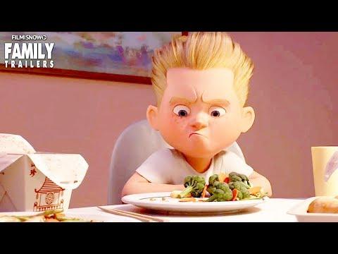 INCREDIBLES 2 | NEW Trailer & BAO Short First Look - Disney Pixar Superhero Animated Movie
