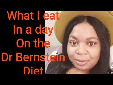 DR Bernstein Diet| What I Eat In A Day | What Is Dr Bernstein Diet ???