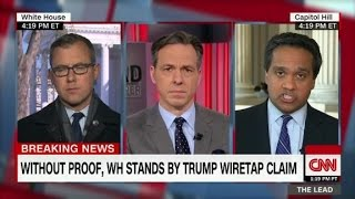 Jake Tapper: White House still argues Earth is flat
