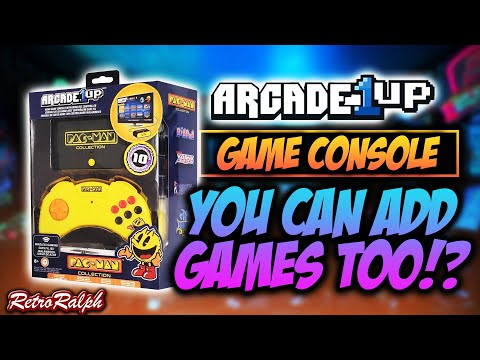 Arcade1Up HDMI Game Console - You can add games too! from Retro Ralph