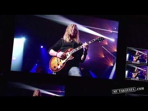 """Taratata Backstage - Vandenberg's Moonkings (""""Lust and lies"""" + cover """"All right now"""" de Free) [2014]"""