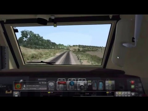 Train Simulator 2015 Amtrak Pacific Surfliner From San Diego to Sorrento Valley (P42DC)