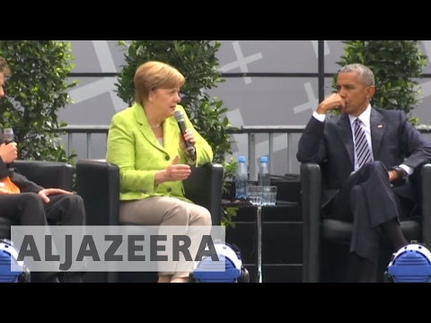 Germany's Merkel stresses EU loss of US and UK as reliable allies