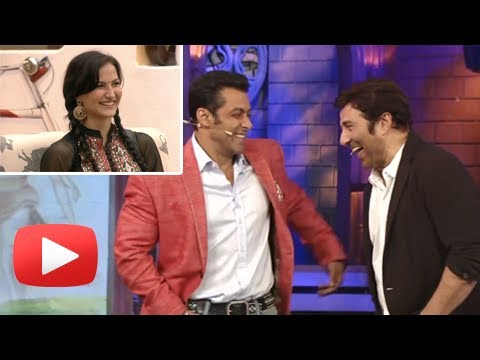 Salman Khan Tells Sunny Deol About Elli And Katrina Similarity! -Bigg Boss 7 Must Watch