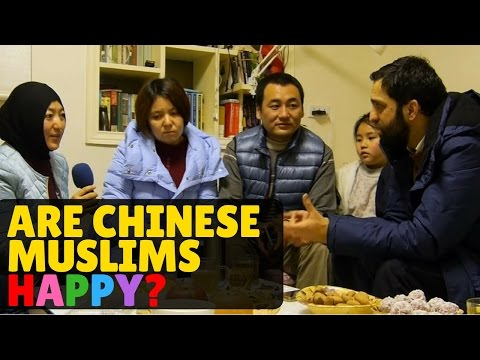 Muslims in China Family Chat in Xian with Dr Deen