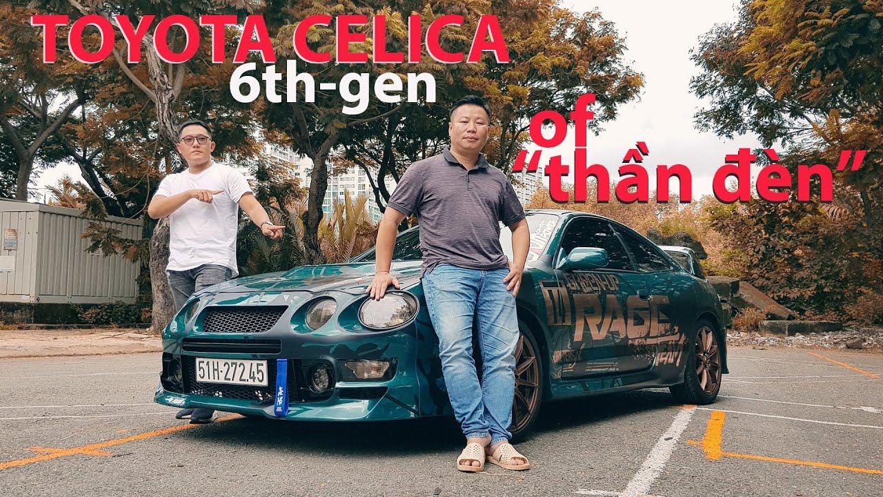 Xe JDM Toyota CELICA 6thGen độ cực CHẤT của Thần đèn KHẮC TRUNG, đèn hậu đẹp như phù phép!
