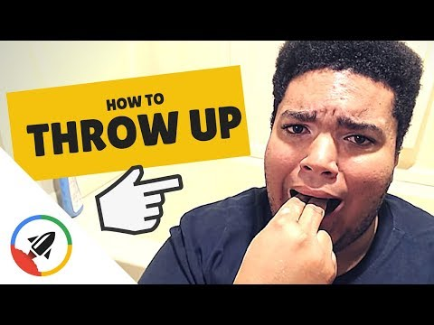 How To Make Yourself Throw Up | 2 Methods