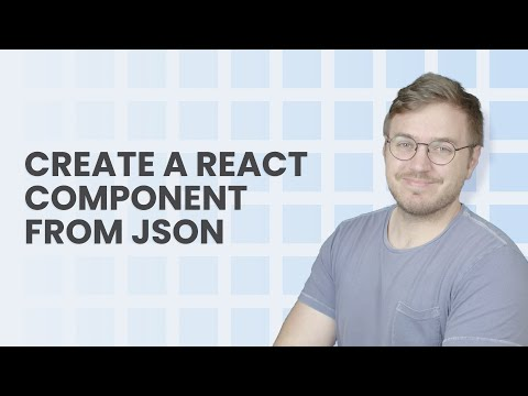 How to Create a React Component Dynamically with JSON