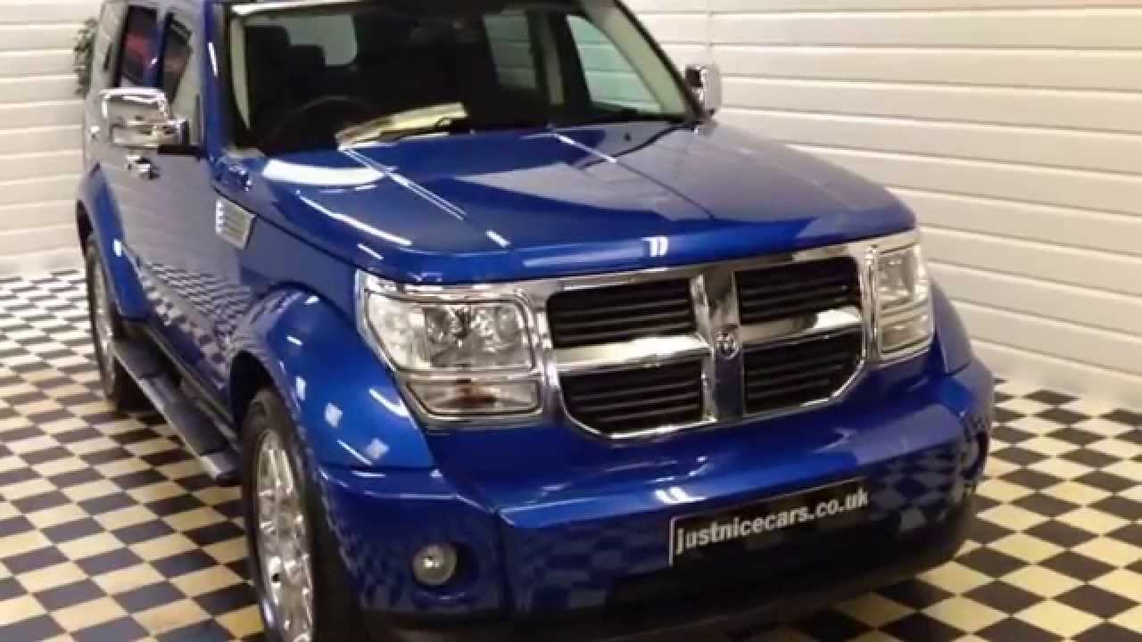 2008 08 dodge nitro 2 8 crd sxt 4x4 5dr sorry now sold youtube. Black Bedroom Furniture Sets. Home Design Ideas