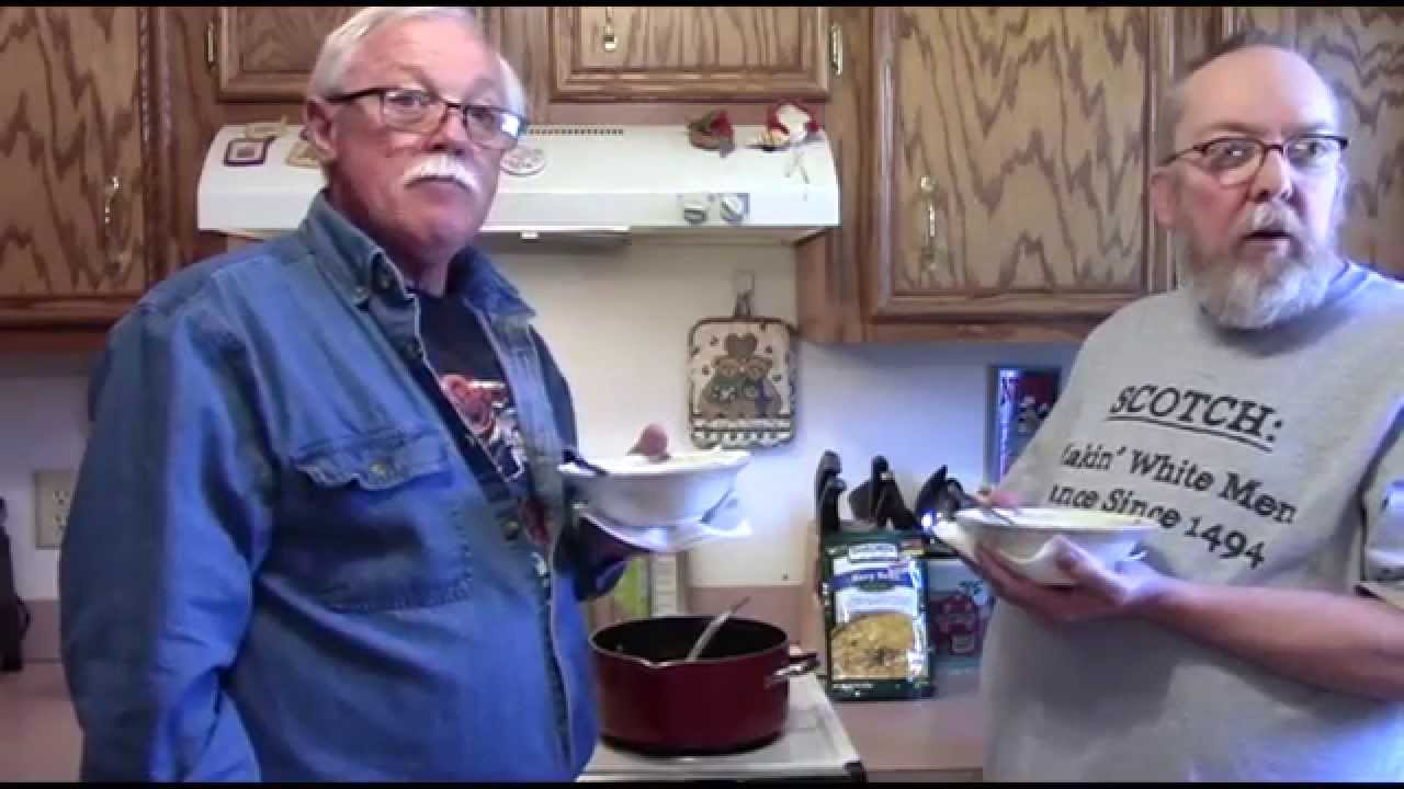 Bear Creek Country Kitchens Survival Food Taste Test Review Bear Creek Navy Bean Soup Mix