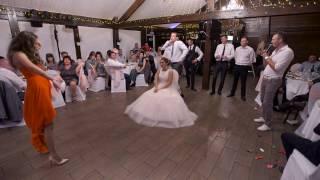 Смешной конкурс на свадьбе, танец свидетеля, ржака))) смотреть до конца)