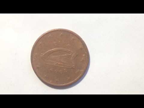 5 Euro Cent Ireland Coin- 2002