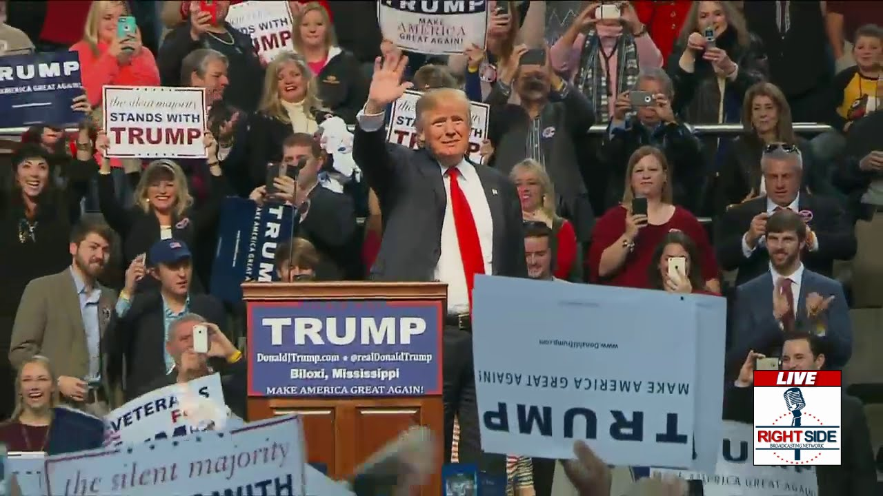 Full Speech: Donald Trump Holds MASSIVE Rally in Biloxi ...
