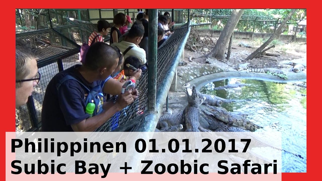 Subic Bay Philippinen Aetas Ureinwohner Safari Tiger Löwen Fledermäuse Ocean Adventure WLBI