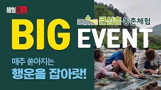 [체험존] 큰삼촌농촌체험 이벤트 - 2가족 초청 (하단…