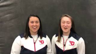Rowing Seniors Chloe Hollinden and Madison Doty - Alabama Preview