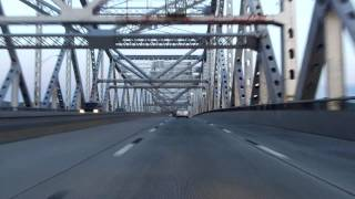 Tappan Zee Bridge North/westbound (sunrise)