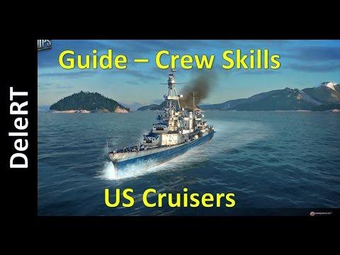 World of Warships - Crew Skills - US Cruisers | Guide