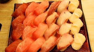 食べ放題!新宿で評判の寿司食べ放題!『きづなすし新宿歌舞伎町店』何個食べれるか挑戦した!手頃な値段でネタが大きくて美味しい!東京・新宿 thumbnail