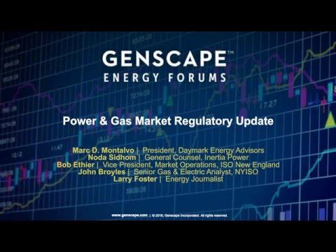 Power & Gas Market Regulatory Update | Genscape