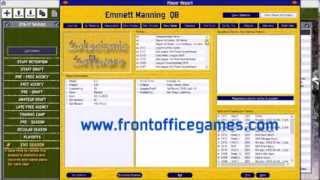 Front Office Football Seven Steam Greenlight Trailer