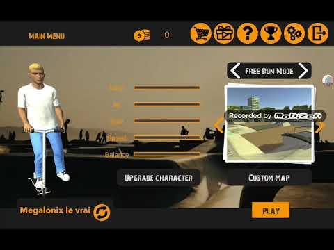 Se jeu de trottinette Freestyle - YouTube