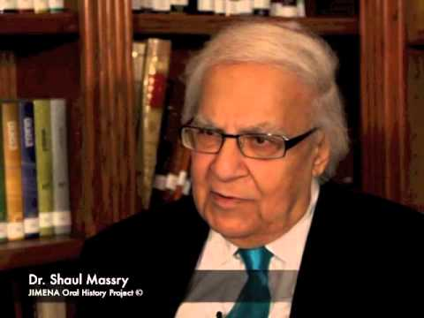 Ben-Gurion Archives and JIMENA: Shaul Massry of Iraq