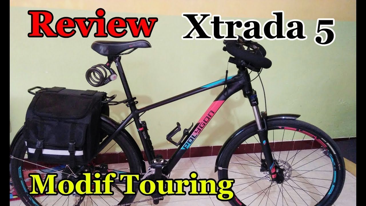 Polygon Xtrada 5 Modif Touring Youtube