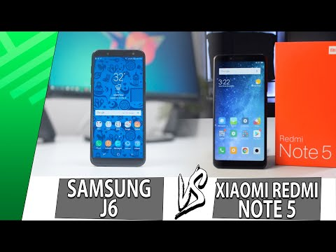Samsung J6 VS Xiaomi Redmi Note 5 | Enfrentamiento | Top Pulso