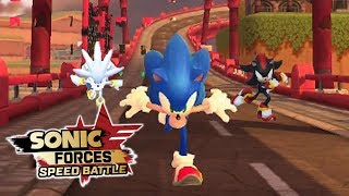 Sonic Forces Speed Battle: Sonic, Shadow, & Silver Gameplay - Sonic 06