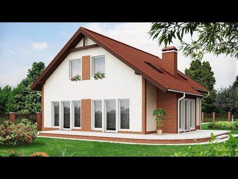 Проекты небольших домов и коттеджей