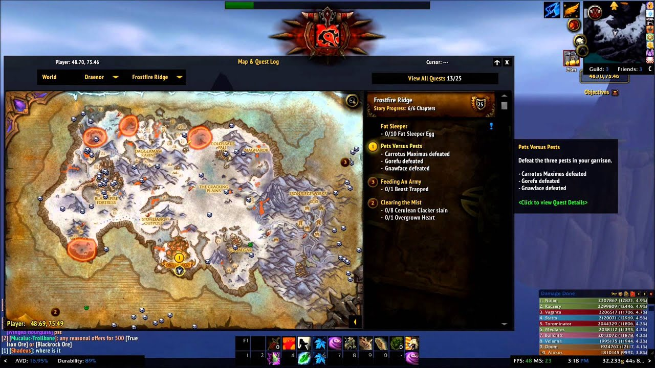 wow how to start draenor quests