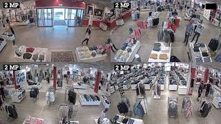 AXIS P3717-PLE vidéo