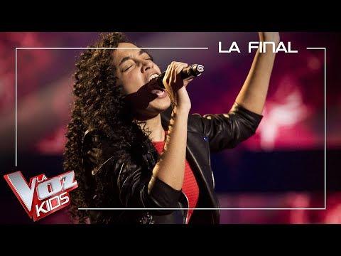 Aysha Bengoetxea Canta ' Shallow'   Final   La Voz Kids Antena 3 2019