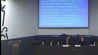 "Conferencia ""Jornada escolar: continua, partida..."" (Rafael Feito) - Parte 4/7"