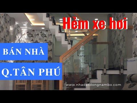 Bán nhà HXH 76 Nguyễn Sơn, Phú Thọ Hòa, quận Tân Phú. DT 3,42x10,63m (nở hậu 3,51m)