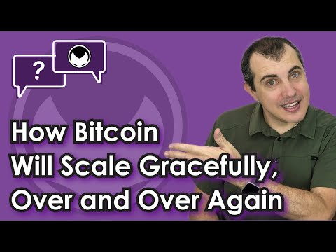 Bitcoin Q&A: How Bitcoin will scale gracefully, over and over again - Scaling Options